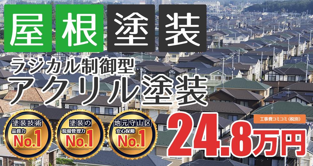 ラジカルプラン塗装 24.80万円(税込27.28万円)