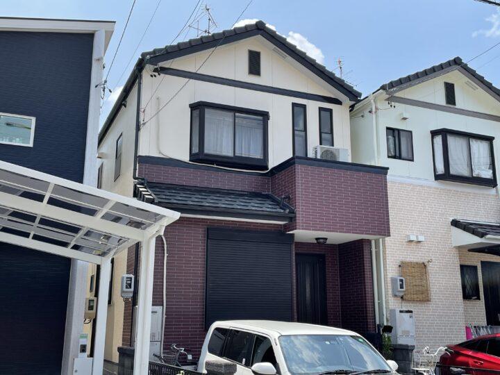 名古屋市守山区 外壁塗装工事 シーリング工事 防水工事