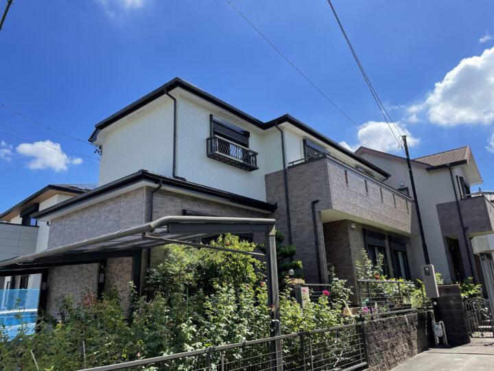名古屋市千種区 外壁塗装工事 屋根塗装工事 シーリング工事 防水工事