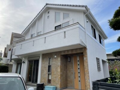 名古屋市 千種区 外壁塗装工事 シーリング工事 防水工事